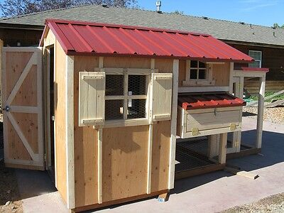 Chicken Coop Plan Material List The Cottage Coop Storage Area Adorable
