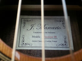 J . Marcario 48 Classical guitar hand made In France