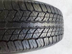 """100% TREAD 16"""" PX FORD RANGER / BT50 WHEEL AND TYRE 255/70R16 DUNLOP"""