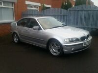 FACELIFT BMW 325i 3 SERIES, LONG MOT, LOW MILES, FSH, DRIVING GREAT, 4 DOOR - P/X TRADE IN WELCOME