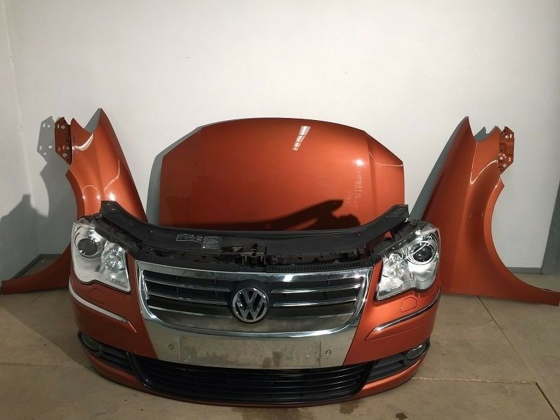 Single Unit : Front end LHD ADL headlight, Radiator, Bonnet VW Touran 1,6 TDI 1st gen facelift 2010