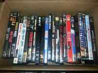 DVDs  $3 each or 4 for $10.