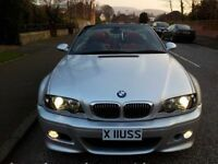 2006 [56] BMW M3 CONVERTIBLE ONLY 42.000 MILES F/S/H-1 PREVIOUS OWNER-NEW BRAKE DISCS -JUST SERVICED