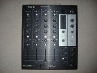 Ecler Nuo 4.0 DJ Mixer + Swan flight case - excellent condition