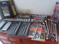 Car tools socket sets