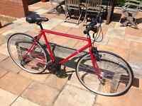Raleigh Winner Custom Built Hybrid/Racer Bike