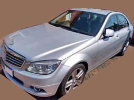 2008 Mercedes Benz CDi C220 elegance, diesel, auto, silver, dealer history, many extras, 144700 mile