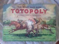 RARE VINTAGE 1949 JOHN WADDINGTON TOTOPOLY GAME
