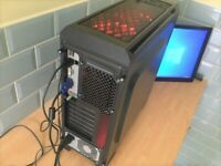ZooStorm Custom Midi Tower 3.3GHz PC Unit with WiFi Internet & Windows 10 Pro
