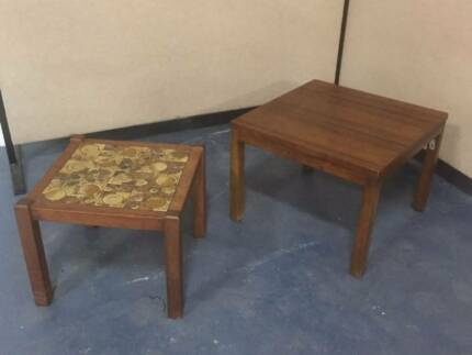 Beloved Stone Tile Top Side Wooden Tables Girraween Parramatta Area Preview