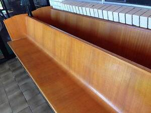 Vintage Retro Queensland Maple Church Pews (8 avail) South Murwillumbah Tweed Heads Area Preview
