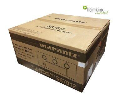 Marantz SR7012 AV-Receiver Verstärker 9.2, AURO 3D HDR HEOS 4k (Silber) NEU