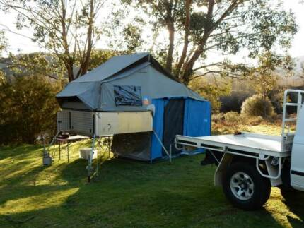 Slide On Camper Fully Equipped for Spacecab or Extracab Ute Tallangatta Valley Towong Area Preview
