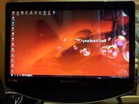 """Packard Bell OneTwo L5351 23"""" LCD All-in-One Touchscreen Wireless Desktop PC 1 Tb Hdd"""