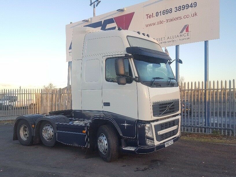2010- 60 plate volvo fh 13-460 6x2 midlift
