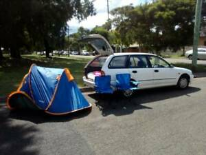 Perfect wagon for travel,sleep in.long nsw rego.bed