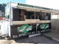 Catering Unit and Pitch For Sale