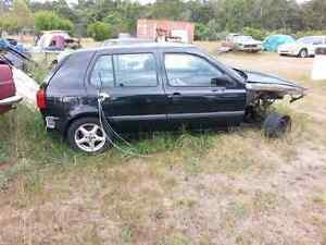 Vw golf mk3 hatch back wrecking no engine or transmission.  Lakes Entrance East Gippsland Preview