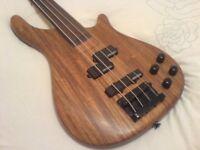 Vintage Fretless Bass