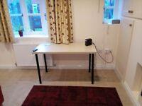 IKEA Office Table Linnmon Adils Birch Effect