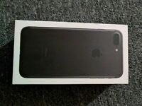 iPhone 7 Plus 32GB (box fresh) Never Been Used