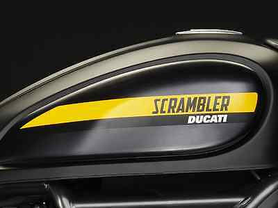 DUCATI SCRAMBLER  Set Scrambler Full Throttle Logos