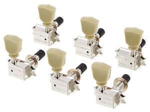 Schaller Original G-Series Tulip SR Top Locking tuners 3x3 Nickel 10490123
