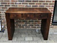Rustic Wooden Desk