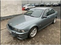 BMW E39 5 series 530d Sport Auto 2001 Spares or repairs / Requires Welding 132k Miles