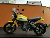 one owner Ducati Scrambler Icon 803cc heated grips