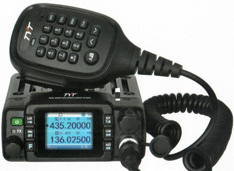 TYT TH8600 2M/70CM 25 WATT SMALL MOBILE W/PROGRAMMING CABLE