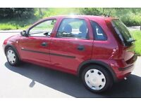 05 CORSA 1 LITRE 52000 MILES 1 OWNER FULL SERVICE HISTORY LONG MOT CHEAP INSURANCE yaris micra astra