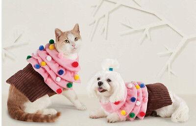 Hyde & Eek Halloween Cupcake Pet Costume Cosplay