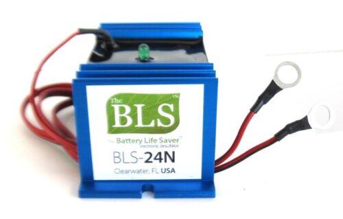 Battery Life Saver BLS-24N Desulfator 24 volt 24v Deep Cycle, GEL, AGM Rejuvenat