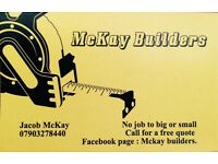Mckay builders No job to big or small