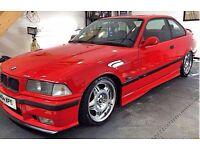 Red E36 M3