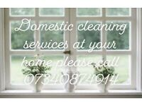 House and business office cleaning service
