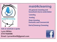 Ironing and cleaning services