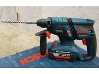 Bosch 36v brushless sds rotary hammer drill