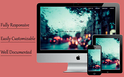 Winter - Fully Responsive Website Template