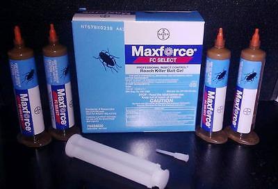 8 Tubes Maxforce FC Select Cockroach german Roach control Bait