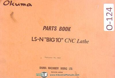 Okuma Ls-n Big10 Cnc Lathe Parts Book Manual