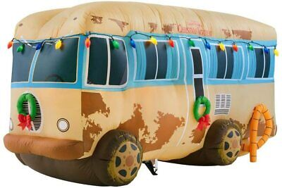 7 1/2' Gemmy Airblown Inflatable Christmas Vacation Cousin Eddie's RV Camper