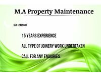 Joiner / Property maintenance