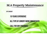 Joiner / Property maintenance
