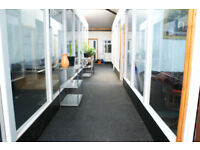 Several office spaces to let in Manchester city centre, free parking.