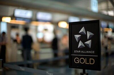 Star Alliance Gold Membership United Gold Air Canada Gold Air China Only