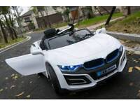 BMW i8 style 12v children's electric ride on car brand new