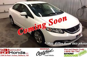 2014 Honda Civic Sedan LX Heated Seats! Bluetooth! Power Options