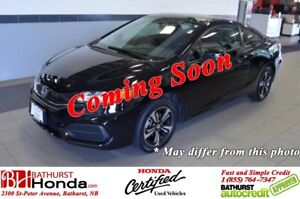 2015 Honda Civic Coupe EX Power Moonroof! Heated Seats! Backup a
